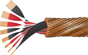 Wireworld Eclipse 8 Speaker Cable Cutaway