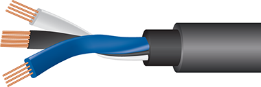 Wireworld Equinox 8 Subwoofer Cable Cutaway