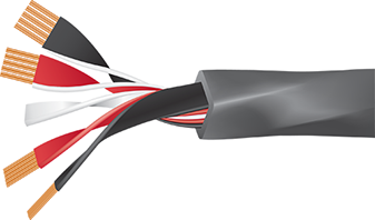 Wireworld Equinox 8 Speaker Cable Cutaway
