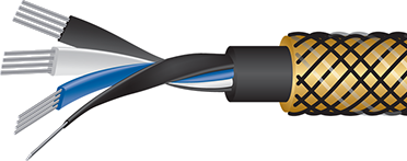 Wireworld Gold Eclipse 8 Interconnect Cutaway