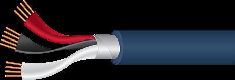 Wireworld Luna 8 110Ω Digital Audio cutaway