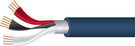 Wireworld Luna 8 Subwoofer Cable Cutaway