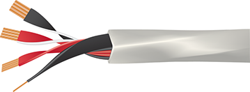 Wireworld Luna 8 Speaker Cable Cutaway