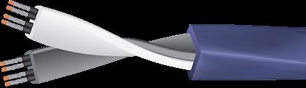 Wireworld Mini-Aurora with Figure 8 Plug Cutaway