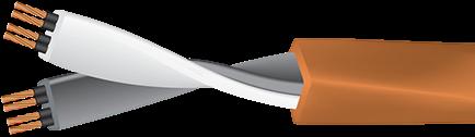 Wireworld Mini-Electra with Figure 8 Plug Cutaway