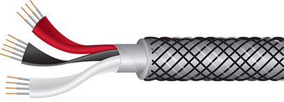 Wireworld Micro-Silver Eclipse 8 Tonearm Cable Cutaway