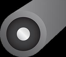 Wireworld Nova Toslink Optical Cross section