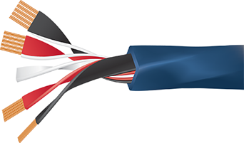 Wireworld Oasis 8 Speaker Cable Cutaway
