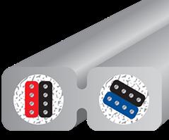 Wireworld Nano-Platinum Eclipse Mini Jack Cross section
