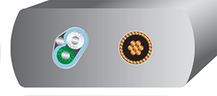 Wireworld Platinum Starlight 8 USB 2.0 Cross section
