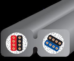 Wireworld Nano-Silver Eclipse Mini Jack Cross section
