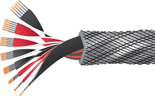 Wireworld Silver Eclipse 8 Speaker Cable Cutaway