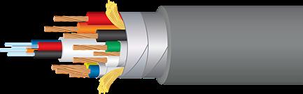 Wireworld Stellar Fiber Optic 8K Cutaway