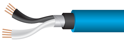 Wireworld Stream Subwoofer Cable Cutaway