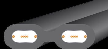 Wireworld Terra Interconnect Cross section