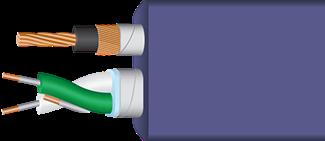 Wireworld Ultraviolet 8 USB 2.0 Cutaway
